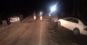 İğde Mahallesinde trafik kazası: 3 yaralı