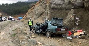 Şehit annesi feci kazada hayatını kaybetti