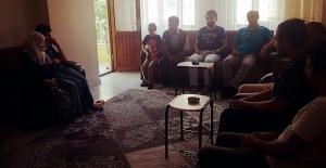 AK Parti gençlik kollarından taziye ziyareti