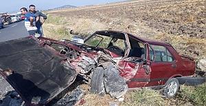 Feci kazada 1 kişi öldü, 3 kişide yaralandı