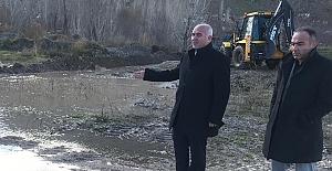 Elbistan Belediyesi sel tedbirleri almaya başladı