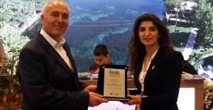 EMİTT fuarında Elbistan Belediyesi standına ödül