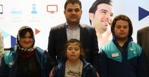 Murat Şahin, Down sendromlu bireyleri ağırladı