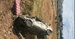 Otomobilin hurdaya döndüğü kazada 5 kişi yaralandı