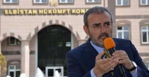 Mahir Ünal Elbistan'da vatandaşlarla bayramlaştı