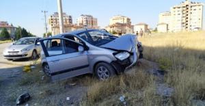 Elbistan'daki kaza ucuz atlatıldı