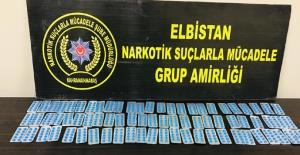 Elbistan'da uyuşturucu ticareti yapan 2 kişi tutuklandı