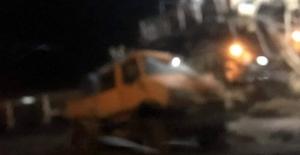 Çelikler'de iş kazası: 2 işçi yaralandı