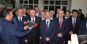 Ünal, EÜAŞ ve Çelikler Holding yetkililerinden brifing aldı