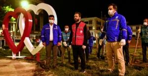 Başkan Gürbüz, 1Mayıs'ı işçilerle kutladı