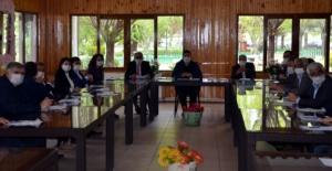 Belediye meclis üyeleri imar revizyonu için toplandı