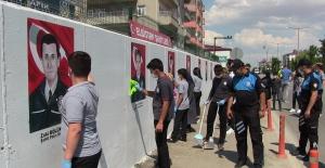 Şehit polislerin resimlerini çizdiler