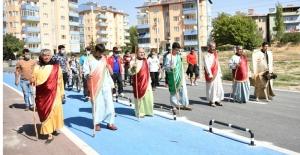 Elbistan Belediyesi, Avrupa Hareketlilik Haftası yürüyüşü düzenledi