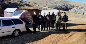 Elbistan'da kaçak avcılara ceza