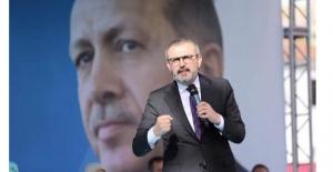 """Ünal, """"Devleti bu milletin seçtiği Recep Tayyip Erdoğan yönetecek"""""""