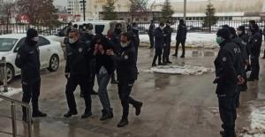 Elbistan'da hırsızlık şüphelisi 7 kişi tutuklandı