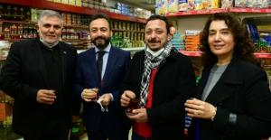 Başkan Gürbüz, Alışveriş bayramı yansımalarını yerinde inceledi