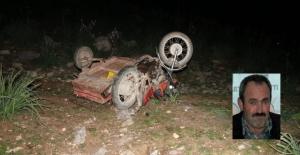 Belediye çalışanı motosiklet kazasında öldü