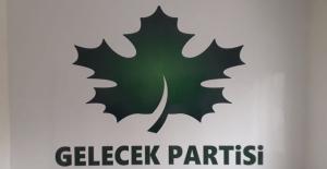 Gelecek Partisi İlçe başkanı istifa etti