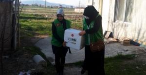 İHH'dan Elbistan'daki ihtiyaç sahiplerine ramazan yardımı