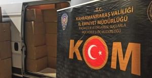 Polis 1 milyon 820 kaçak makaron ele geçirdi