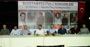 """Gürbüz, """"Elbistan Festivali kent ekonomisine katkı sunacak"""""""