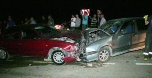Elbistan'da feci kaza 6 yaralı