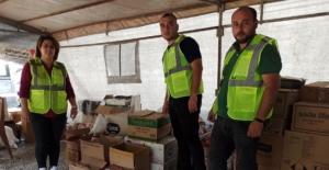 Elbistan'da yangın mağdurları için yardım kampanyası