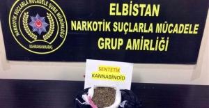 Elbistan'da uyuşturucudan 2 kişi tutuklandı
