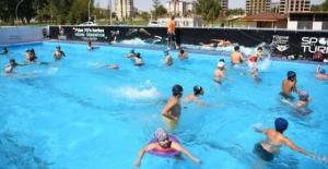 Elbistan'da yüzme bilmeyen kalmayacak