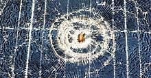 Enerji panelleri mermiden zarar gördü