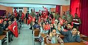 Öğrencilere 'Vatan ve Bayrak Sevgisi'ni anlattılar