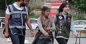 7 yıl hapis cezasıyla aranan kadın yakalandı