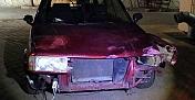 Polis motosiklete çarpıp kaçan sürücüyü 556 aracı inceleyip buldu