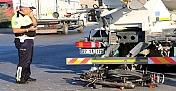 Beton mikseri ile motosiklet çarpıştı: 1 ölü