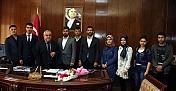 AK Parti Elbistan Gençlik Kollarından Rektör Özgül'e Ziyaret
