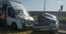 Feci kazada biri ağır 4 kişi yaralandı