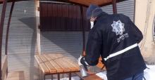 Elbistan Belediyesi üretime devam ediyor