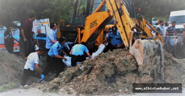 Afşin'de Göçük 1 İşçi Hayatını Kaybetti