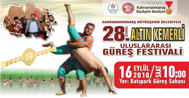 Büyükşehir'den Geleneksel Uluslararası Güreş Festivali