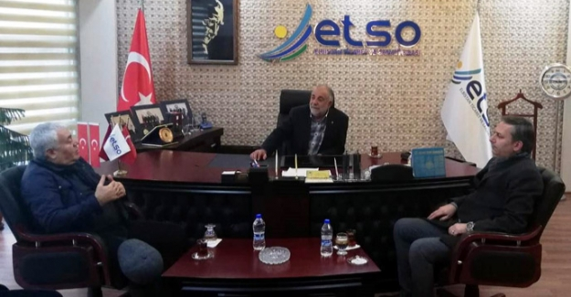 Girişim Grubu Üyeleri Başkan Paksoy'u ziyaret etti
