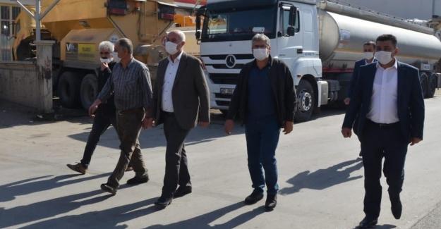 Elbistan AK Parti, sanayi esnafını ziyaret etti