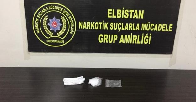 Elbistan'da uyuşturucu ticareti yapan kişi tutuklandı