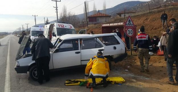 Göksun - Elbistan karayolunda kaza: 9 yaralı