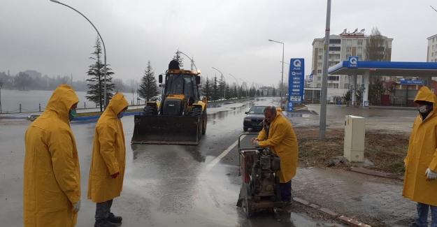 Meteoroloji uyardı, Elbistan Belediyesi teyakkuza geçti