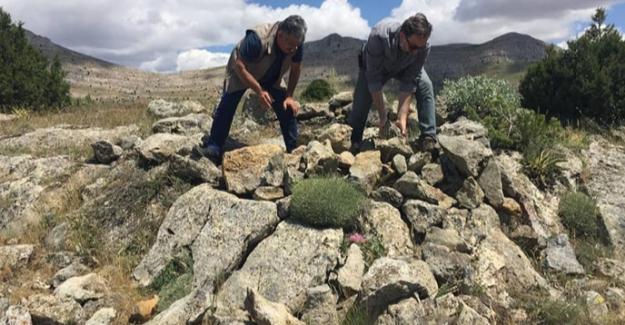 Elbistan'da tespit edilen evsinler yıkıldı