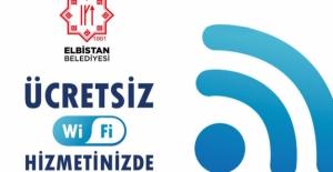 Elbistan Belediyesi'nden Ücretsiz Wi-Fi Hizmeti