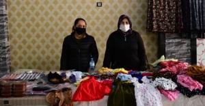 Elbistan Belediyesi'nde Mikrokredi üyesi kadınlara pazar alanı