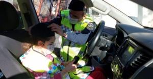 Elbistan'da otizmli küçük kıza sürpriz