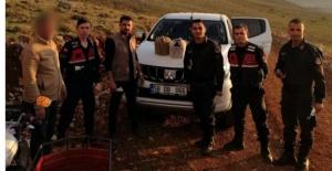 Elbistan'da kurak avı yapan 2 kişi yakalandı